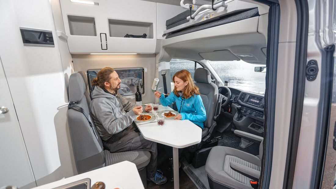 VW Grand California 600 (2020) im Vergleichstest