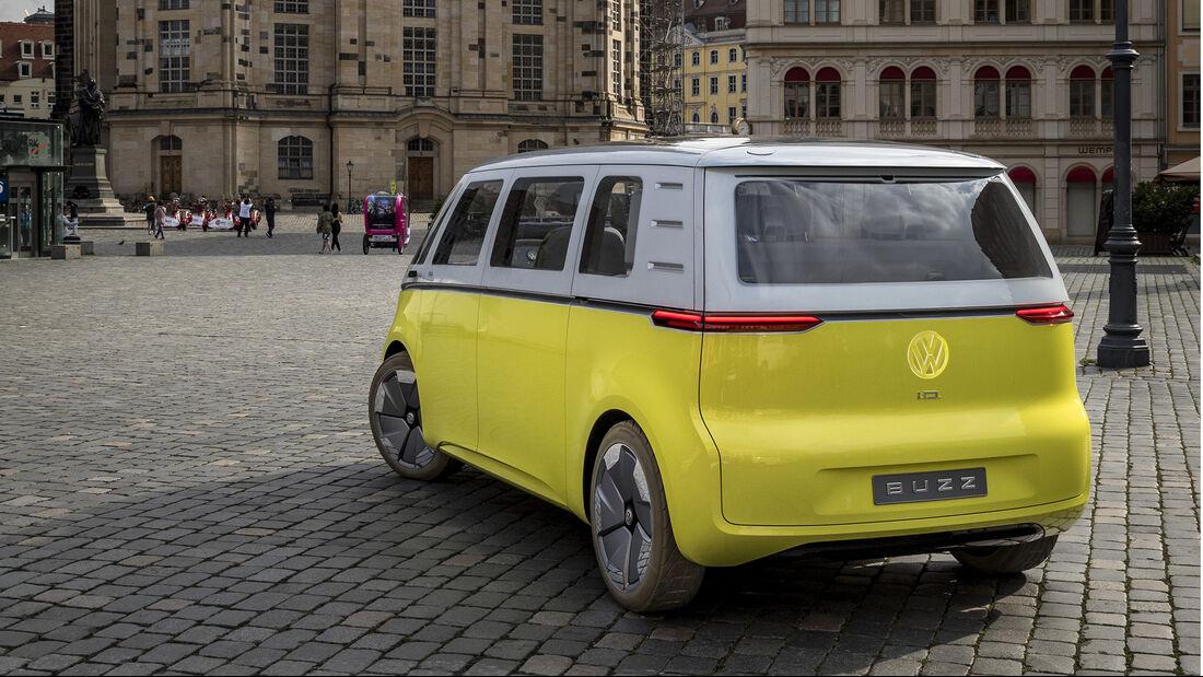 VW I.D. BUZZ, Impression, Heck