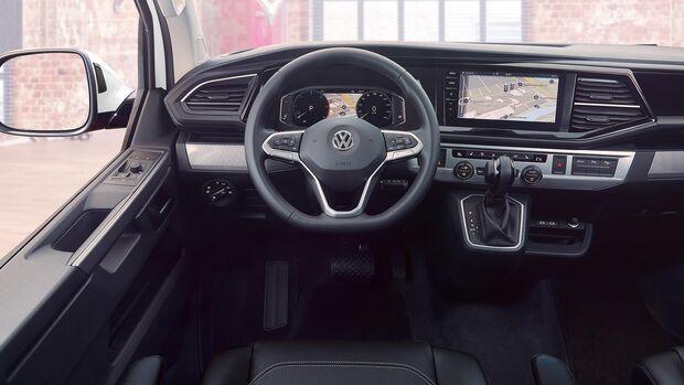 VW T 6.1 Cockpit