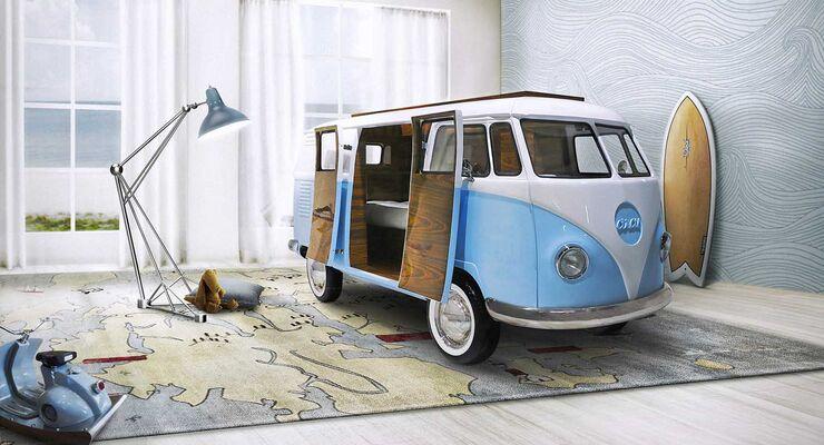 VW T1 Bulli Bett