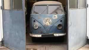 VW T1 Radarmesswagen (1953) 1. Blitzer-Bulli