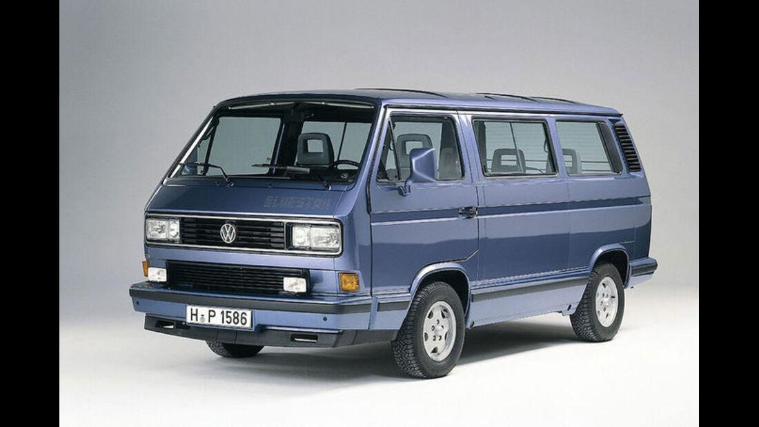 VW, T3, Bluestar