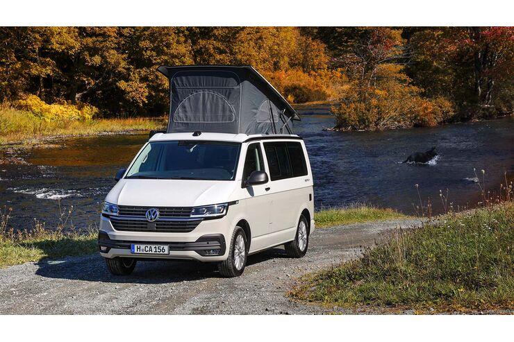 Neuer VW T6.1 California(2020): Camping-Modul und zwei neueBeach-Versionen