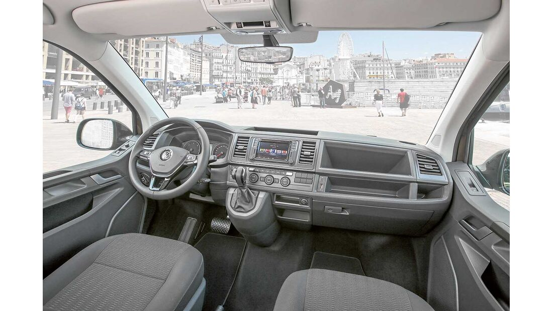 VW T6 Armaturen