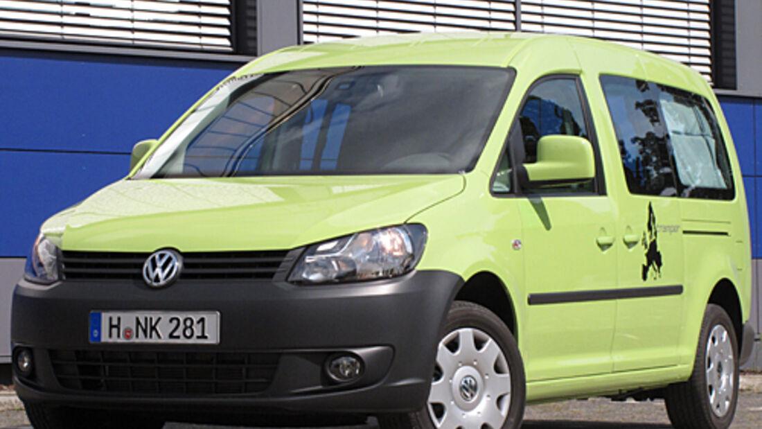 VW, caddy, Tramper, Reisemobil, wohnmobil, caravan, wohnwagen