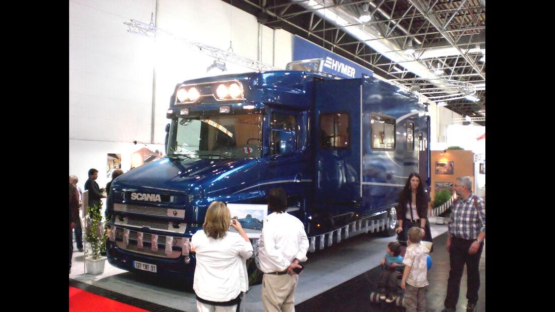 Vans Chardron Scania Luxux-Wohnmobil Reisemobile Caravan Salon 2009 promobil