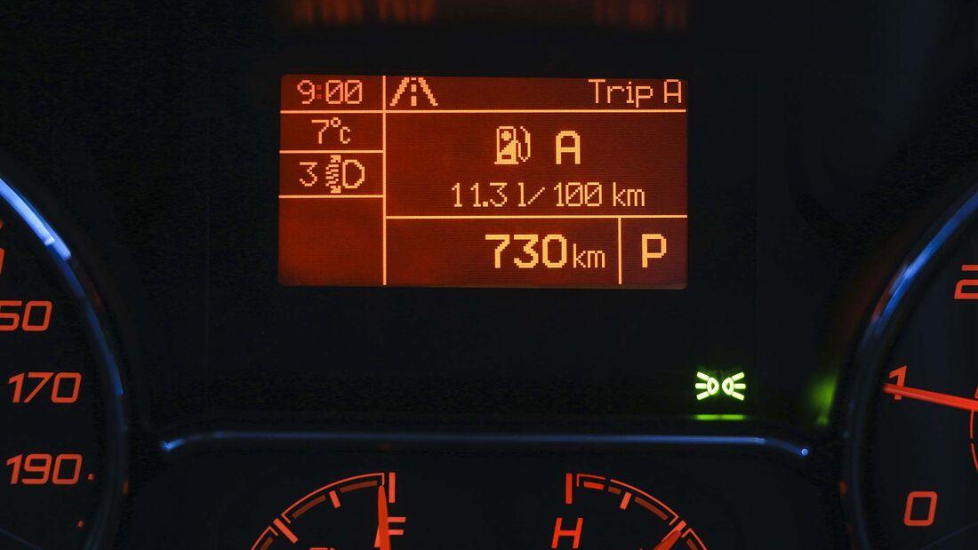 Verbrauch Test-Fahrten