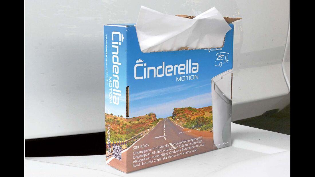 Verbrennungstoilette Cinderella Motion