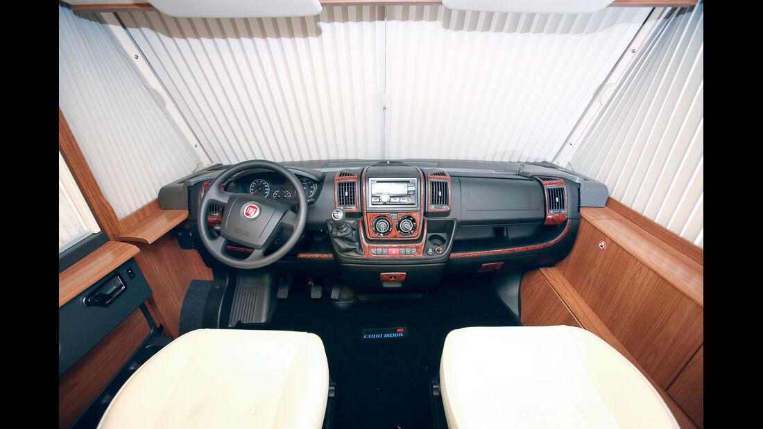 Vergleich: Integrierten-Cockpits, Armaturenbrett Eura