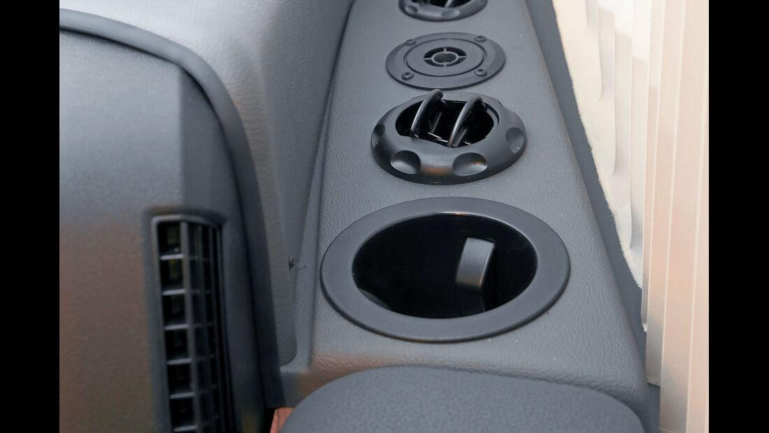 Vergleich: Integrierten-Cockpits, Ausströmer