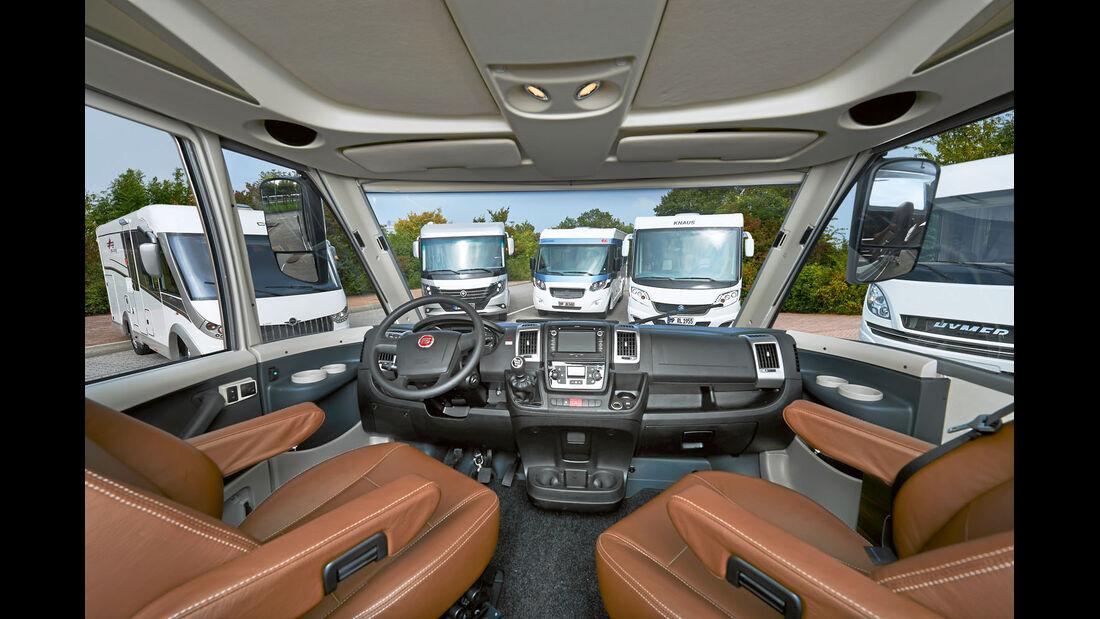 Vergleich: Integrierten-Cockpits, Integrierte