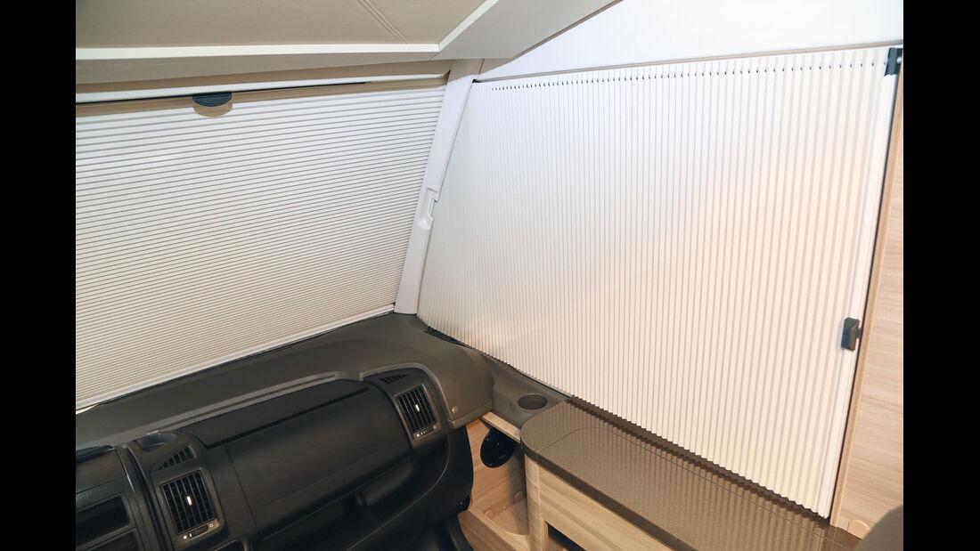 Vergleich: Integrierten-Cockpits, Rollokassette