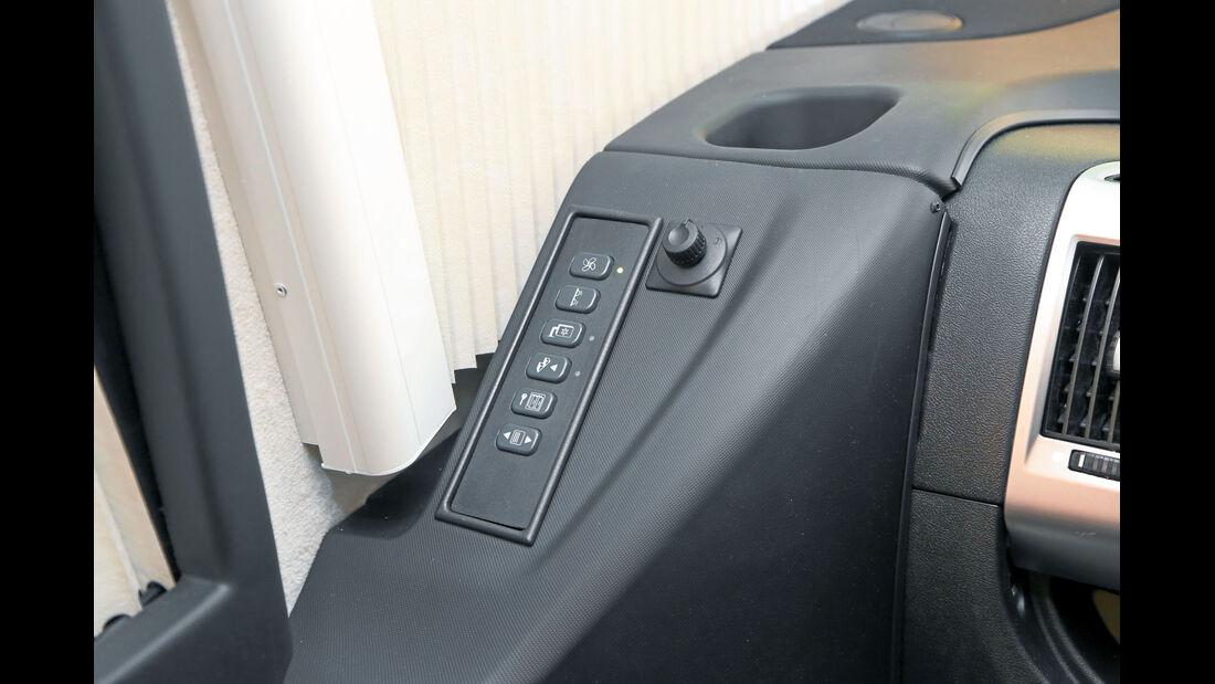 Vergleich: Integrierten-Cockpits, Schalterbatterie