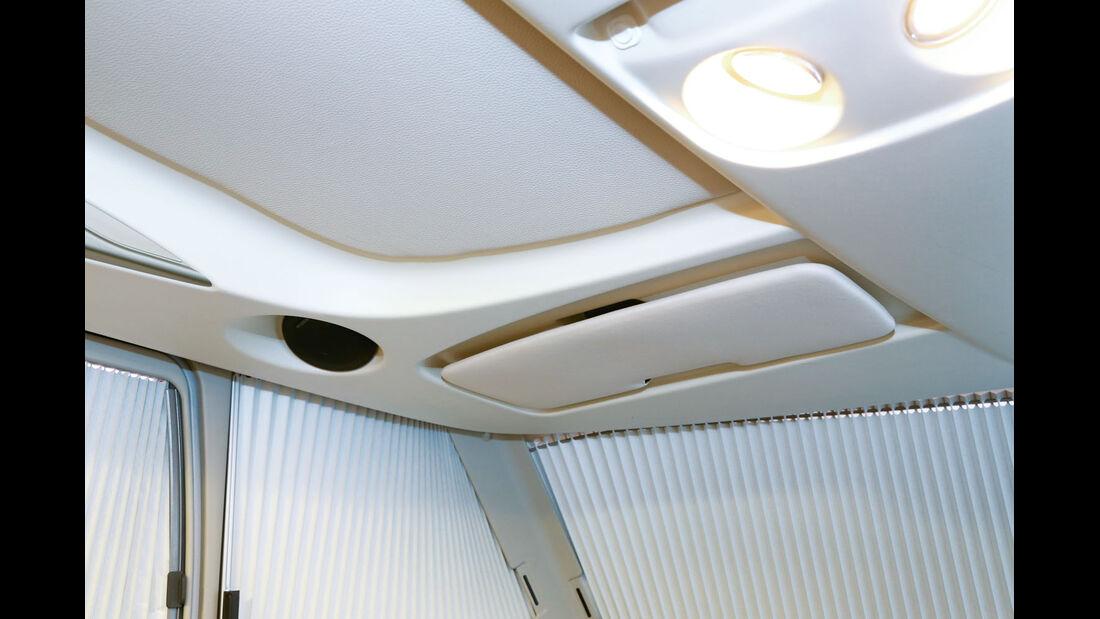 Vergleich: Integrierten-Cockpits, Sonnenblenden