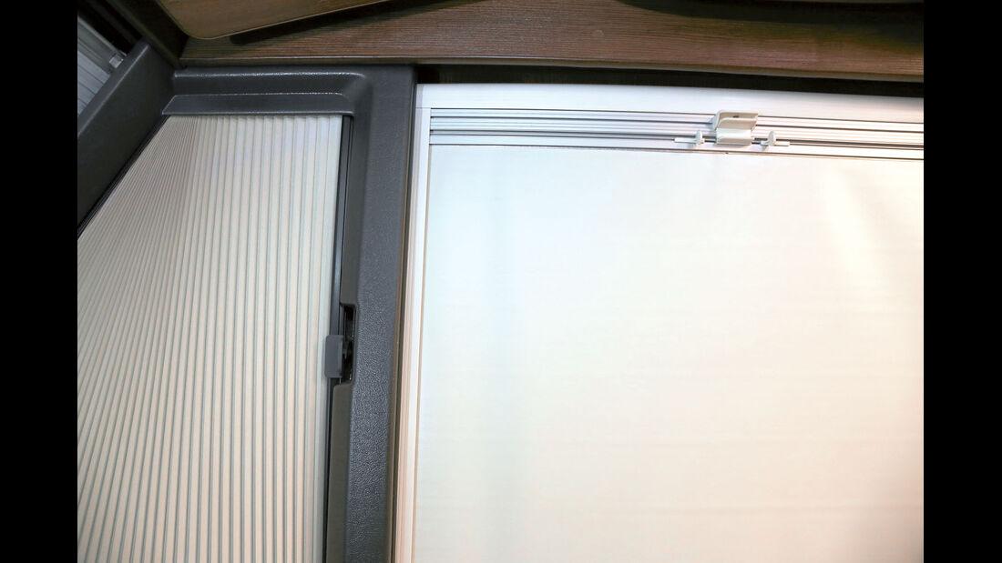 Vergleich: Integrierten-Cockpits, Verdunklungsrollos