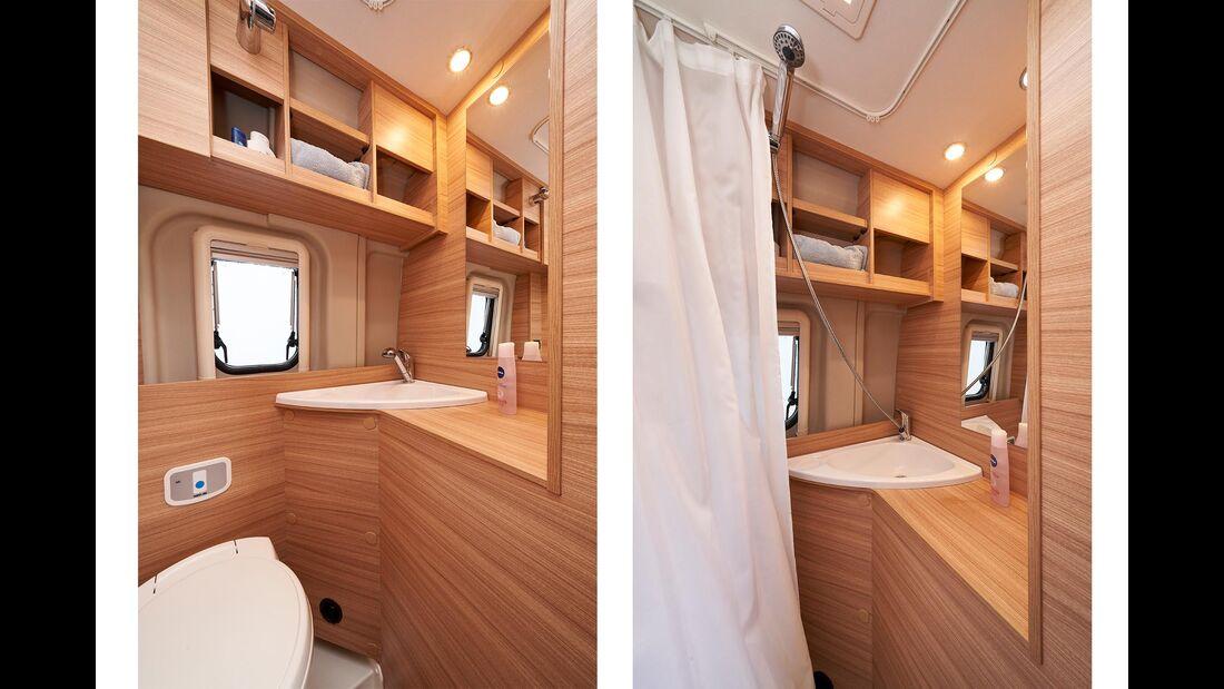 Vergleich Sunlight Van V60 und Cliff 600