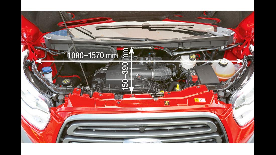 Vergleichstest, Basisfahrzeuge, Servicefreundlichkeit: Ford-Motor