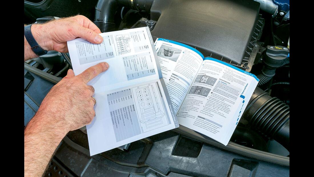 Vergleichstest, Basisfahrzeuge, Servicefreundlichkeit: Mercedes-Bedienungsanleitung