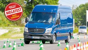 Vergleichstest, Basisfahrzeuge, Sicherheit