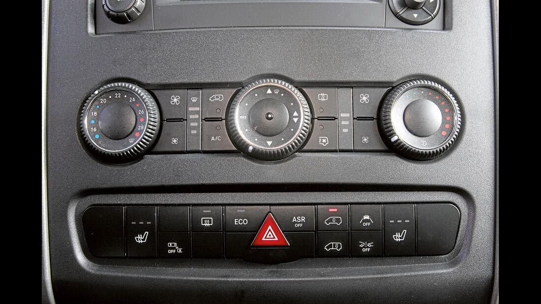 Vergleichstest, Basisfahrzeuge, Sicherheit: Abstandswarnassistent