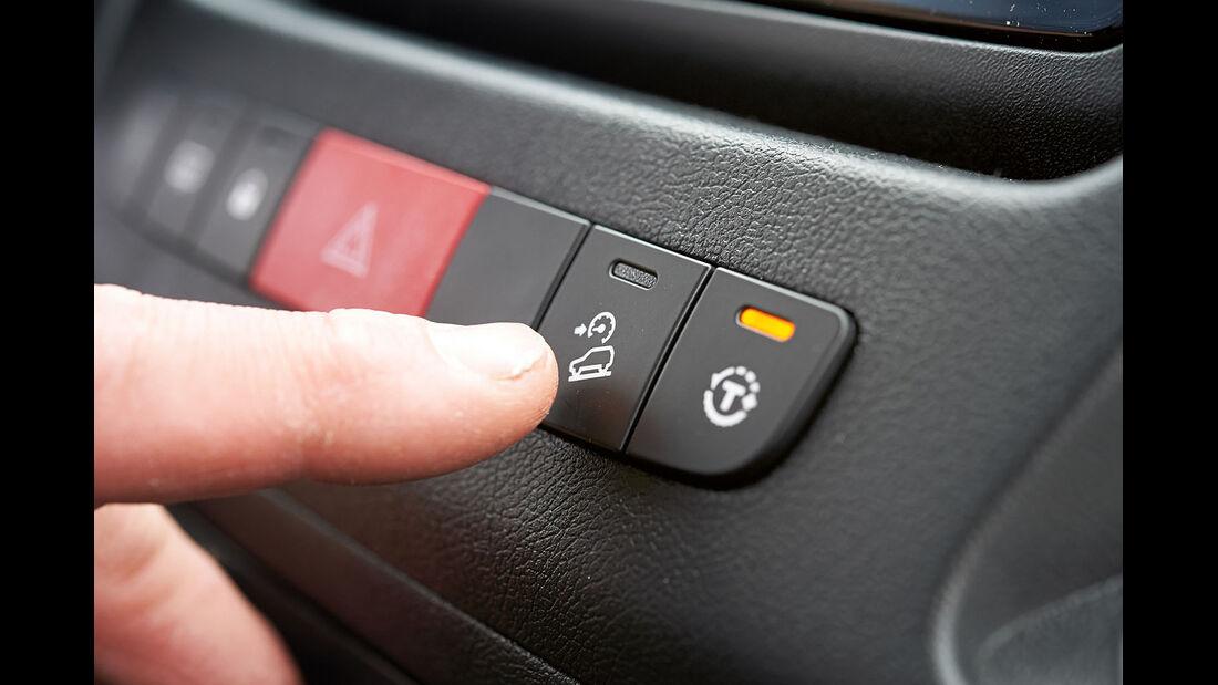 Vergleichstest, Basisfahrzeuge, Sicherheit: Traktionskontrolle