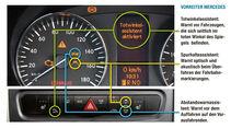 Vergleichstest, Basisfahrzeuge, Sicherheit: Vorreiter Mercedes