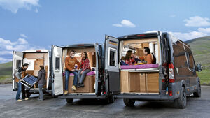 Vergleichstest: Campingbusse mit Längsbett