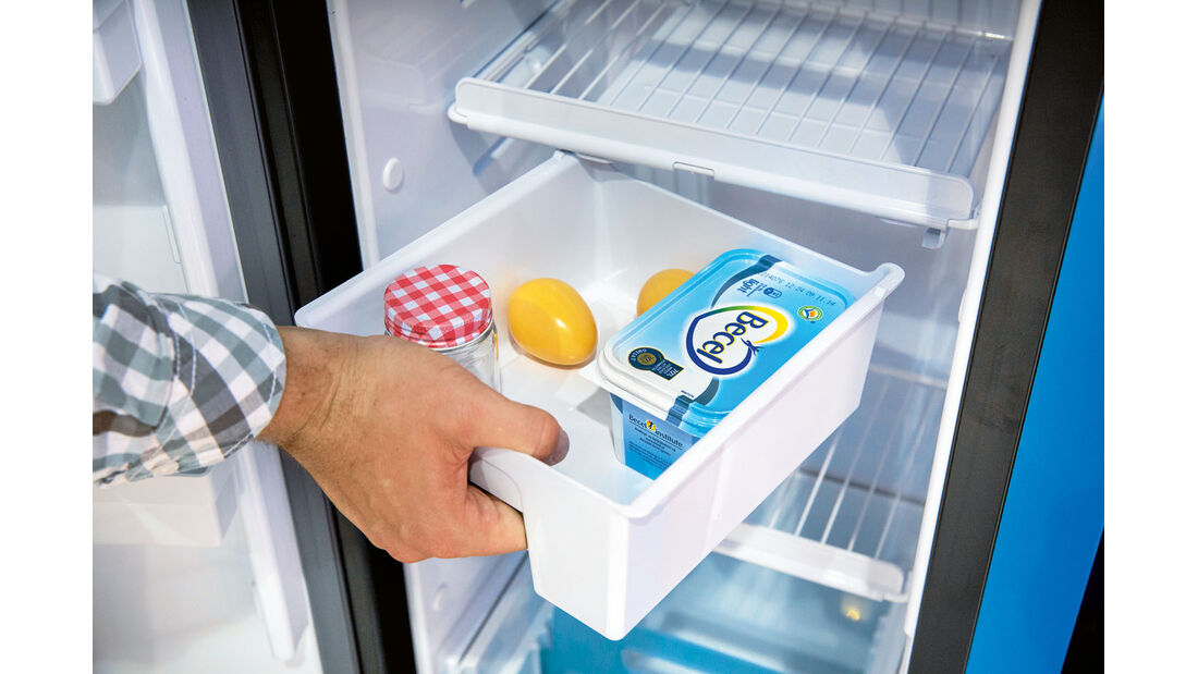 Vergleichstest: Kühlschränke, Dometic Frühstücksbox