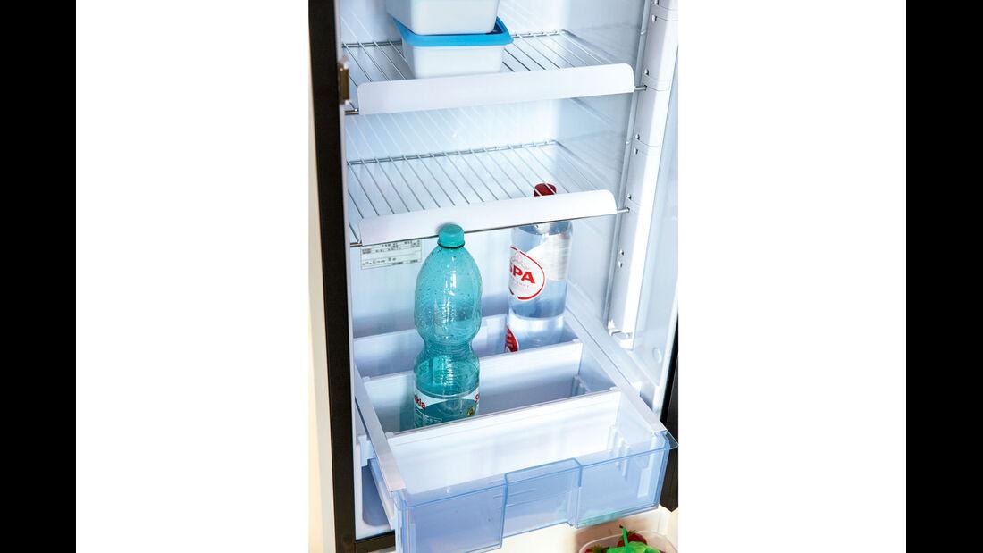 Vergleichstest: Kühlschränke, Dometic Gitter