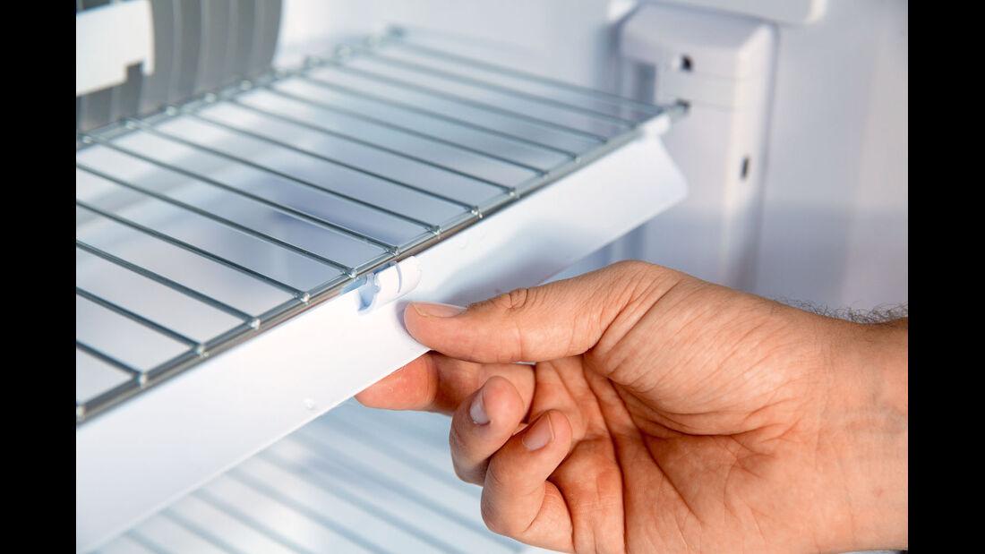 Vergleichstest: Kühlschränke, Dometic Rüttelleiste