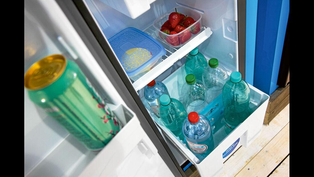 Vergleichstest: Kühlschränke, Thetford Bodenschublade