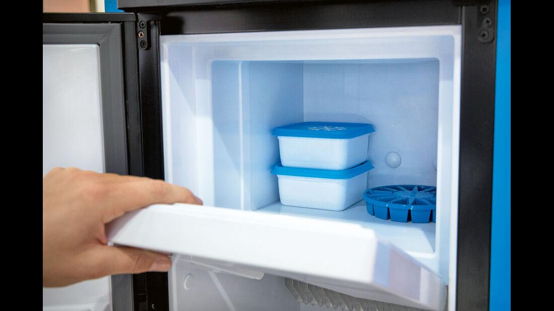 Vergleichstest: Kühlschränke, Thetford Eisfach