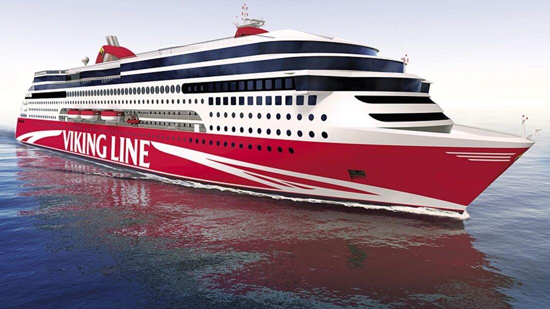 Viking Line ordert eine Passagierfähre mit Vorbildcharakter