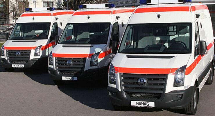 Volkswagen Crafter Katastrophenschutz Reisemobil Wohnmobil