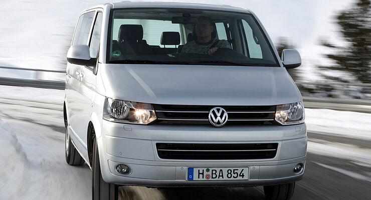 Volkswagen Nutzfahrzeuge präsentiert auf dem Genfer Salon als Welt-Premiere den Multivan BlueMotion