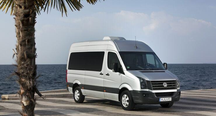 Volkswagen erweitert das Crafter-Motorenprogramm um einen zweiten Biturbo-Diesel, der die EEV-Abgasvorschrift erfüllt