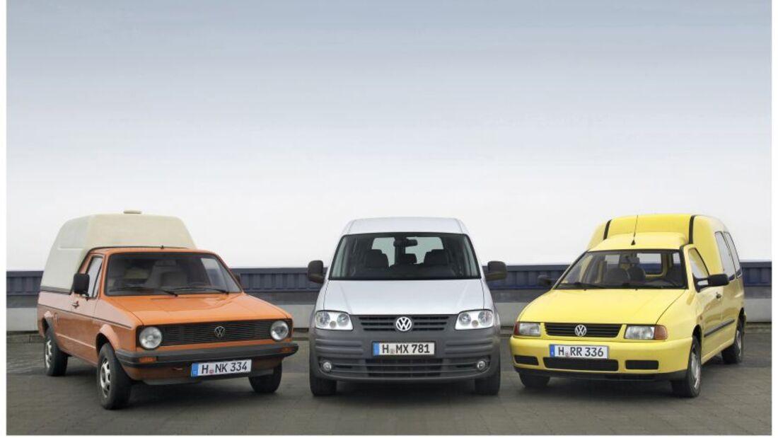 Volkswagen feiert in diesem Jahr 30 Jahre Caddy in Europa und hat bereits auch ein Sondermodell angekündigt