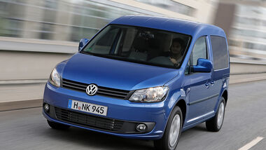 Volkswagen wird auf der IAA in Frankfurt (12. - 22.9.2013) den Caddy Blue Motion präsentieren. Er ist besonders sparsam.