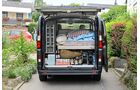 Voll bepackt und mit nachgerüstetem Zubehör kommen Reisemobile schnell an ihre Zuladungsgrenzen.