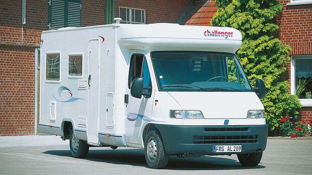 Von 2001 stammt dieser Challenger 105.