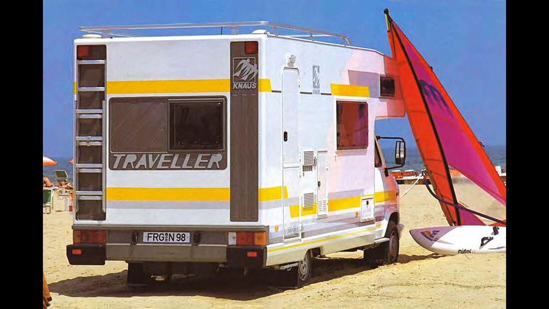 Vor 30 Jahren zeichnete Manfred Lang das Heck des Traveller – es kann sich heute noch sehen lassen.