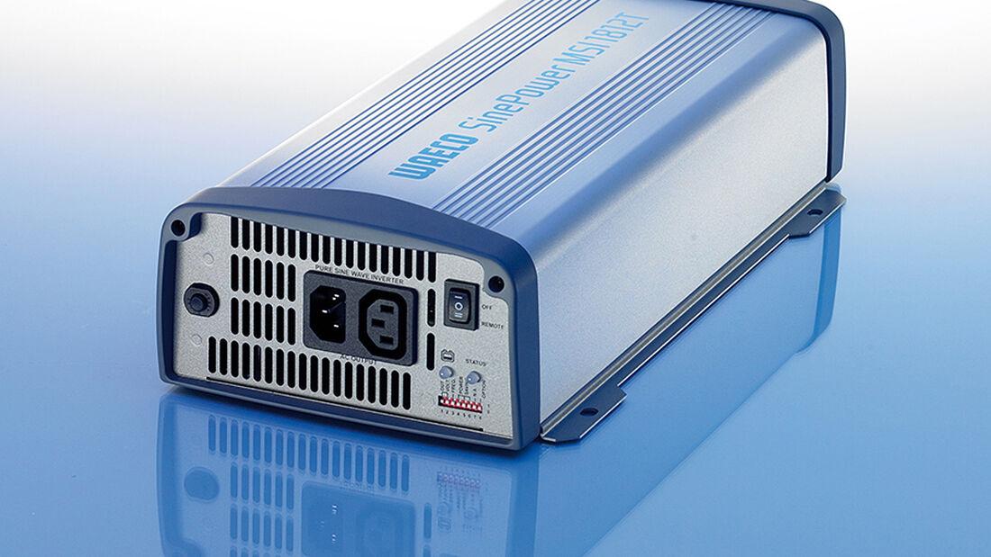 Waeco hat für die Energieversorgung von Freizeitfahrzeugen die neue Sinus-Wechselrichterserie Sine Power MSI entwickelt.