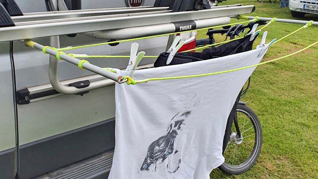 Wäschetrockner Fahrradträger
