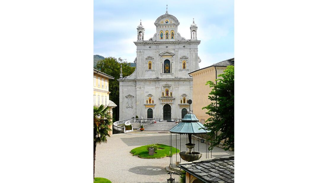Wallfahrtskirche Basilica dell'Assunta Varallo Piemont Italien