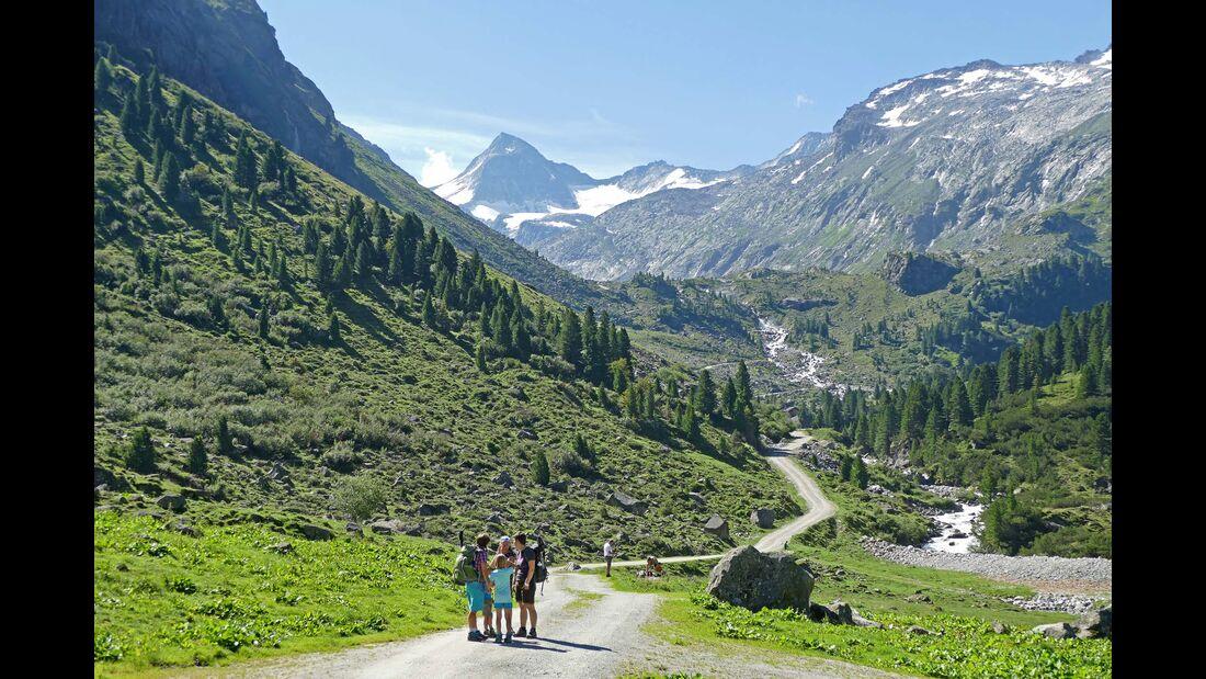 Wanderung im Obersulzbachtal
