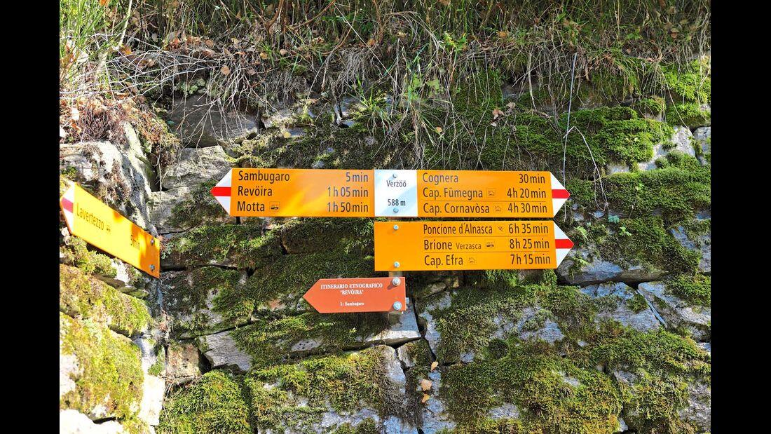 Wanderwege für jeden Geschmack führen am Fluss entlang durchs Tal