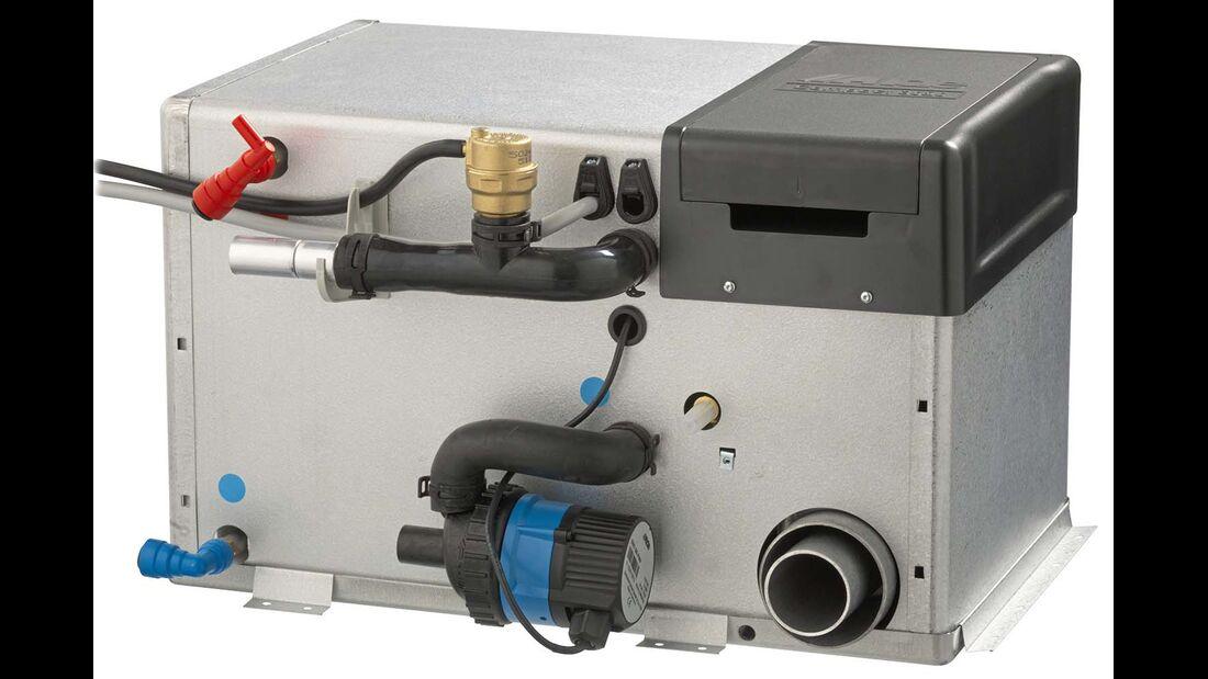 Warmwasserheizung und Boiler