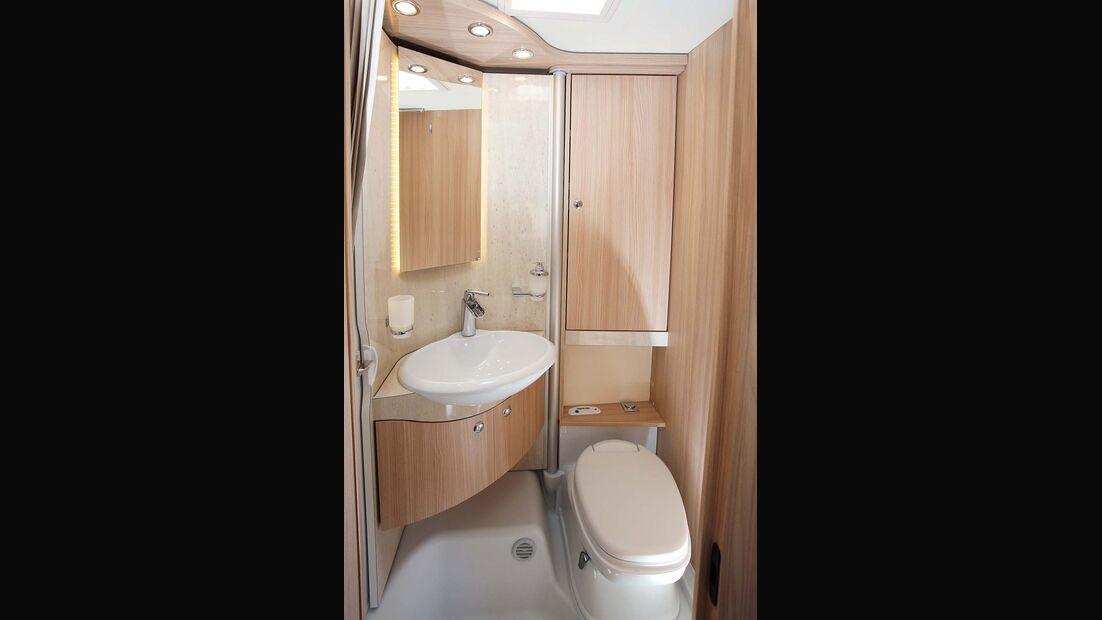 Waschbecken beim Bürstner Travel Van t 590 G