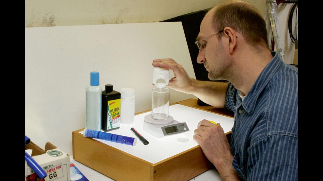 Wasserhygiene, PRO 05/11, Die Reiniger