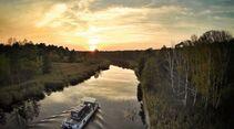 Wasserkanal in Nordostdeutschland